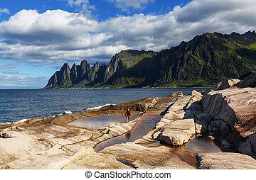 νησί , senja