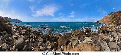 νησί , - , tenerife , ακτή , καναρίνι , ισπανία