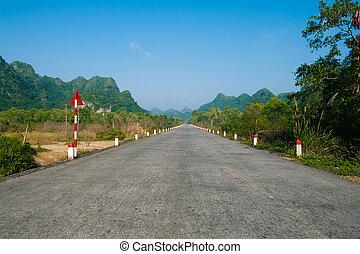 νησί , vietnam , μαϊμού , δρόμοs