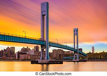 νησί , wards, γέφυρα