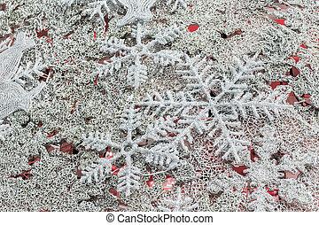 νιφάδα , xριστούγεννα , φόντο