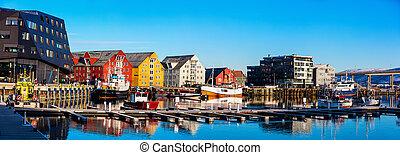 νορβηγία , tromso , βόρεινος