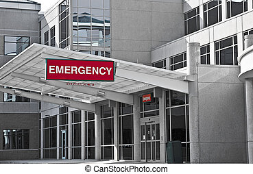 νοσοκομείο , ιατρείο εκτάκτων