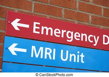 νοσοκομείο , σήμα