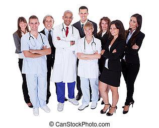 νοσοκομείο , σύνολο , προσωπικό