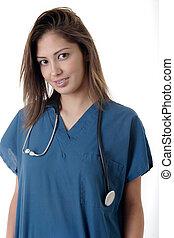 νοσοκόμα , σπουδαστής