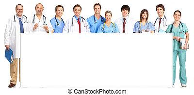 νοσοκόμες , γιατροί