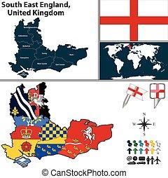 νότιο , ανατολή , αγγλία , ηνωμένο βασίλειο