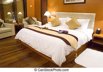 ξενοδοχείο κρεββατοκάμαρα