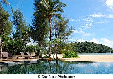 ξενοδοχείο , phuket , πολυτέλεια , σιάμ , παραλία ,...