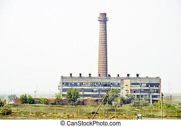 ξεπεσμένος , εργοστάσιο
