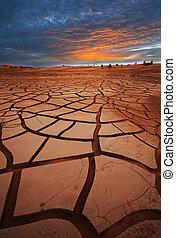 ξηρασία , γη