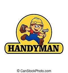 ξυλουργόs , εικόνα , γελοιογραφία