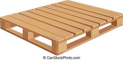 ξύλινος , αχυρόστρωμα