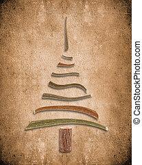 ξύλινος , δέντρο , xριστούγεννα , φόντο