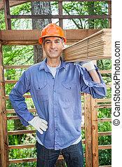 ξύλινος , εργάτης , έδεσα , βέβαιος , άγω , επενδύω δι