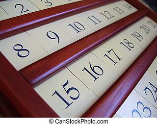 ξύλινος , ημερολόγιο