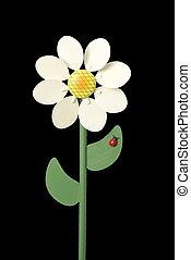 ξύλινος , λουλούδι , ανεμόμυλος , παιχνίδι