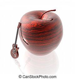 ξύλινος , μήλο , πλοκή