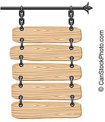 ξύλινος , πίνακας υπογραφών