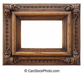 ξύλινος , φωτογραφία αποτελώ το πλαίσιο