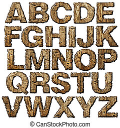 ξύλινος , alphabet.