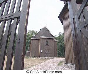 ξύλινος , church.