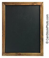 ξύλινο πλαίσιο , chalkboard , κενό