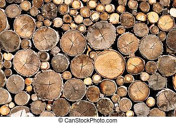 ξύλο , κούτσουρο , πλοκή