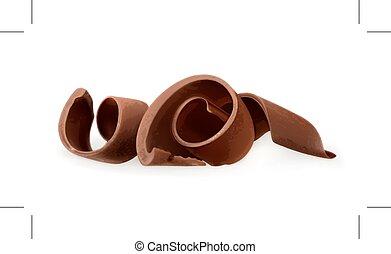 ξύσματα , σοκολάτα