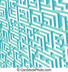 ογκομετρικοό , labyrinth., presentations., εικόνα , φόντο , αφαιρώ