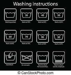 οδηγία , πλύση