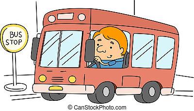 οδηγόs λεωφορείου