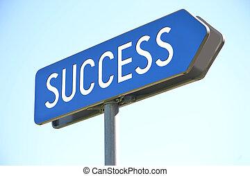 οδοδείκτης , επιτυχία