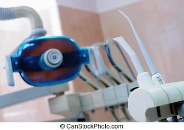 οδοντιατρικός έδρα , εξοπλισμός