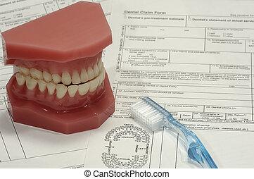 οδοντιατρικός , αξιώ