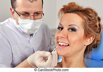 οδοντιατρικός , αποκαθιστώ