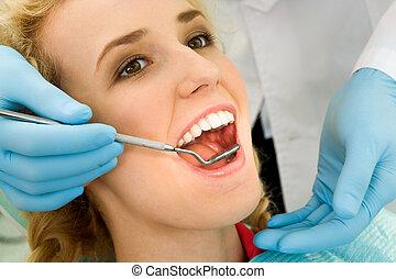 οδοντιατρικός , γενική εξέταση υγείας