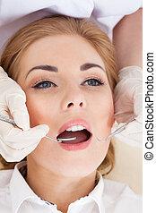 οδοντιατρικός , επιθεώρηση