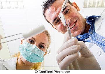 οδοντιατρικός , λειτουργία
