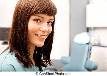 οδοντιατρικός hygienist