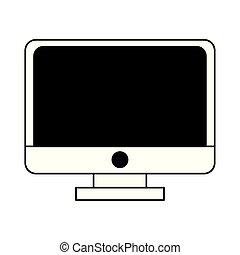 οθόνη , ηλεκτρονικός εγκέφαλος τεχνική ορολογία , γελοιογραφία