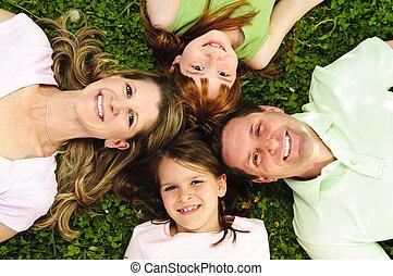 οικογένεια , ευτυχισμένος