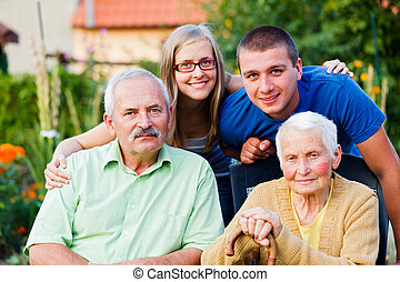 οικογένεια , μέσα , κατοικητικός , προσοχή , σπίτι