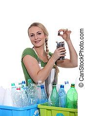 οικολογικός , ανακύκλωση , μήνυμα