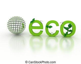 οικολογικός , γενική ιδέα