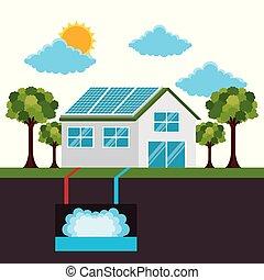 οικολογικός , ενέργεια , άνθρωπος