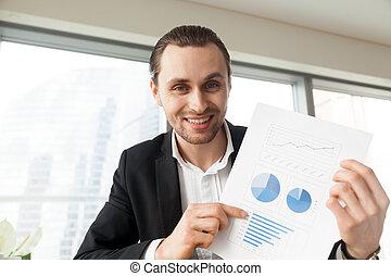 οικονομικός , γραφείο , θετικός , εκδήλωση , r , επιχειρηματίας , ευθυμία αίσιος