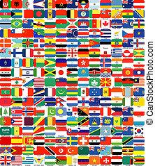 ολοκληρώνω , θέτω , από , σημαίες