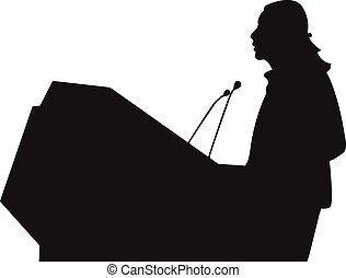 ομιλητής , business/political